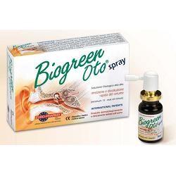 Soluzione Otologica Biogreen Oto Spray Rimozione E Dissoluzione Cerume 13 Ml
