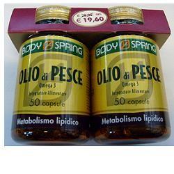 Body Spring Olio Di Pesce Omega 3 Confezione Bipack