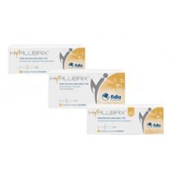 Siringa Intra-articolare Hyalubrix Acido Ialuronico 1,5% 30 Mg 2 Ml 3 Pezzi