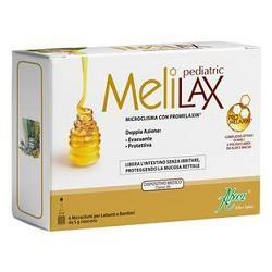Melilax Pediatric Microclismi 6 Pezzi 5 G