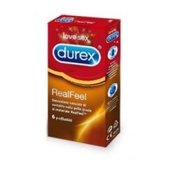 Profilattico Durex Realfeel 6 Pezzi