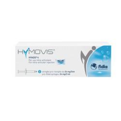 Siringa Intra-articolare Hymovis Acido Ialuronico 24 Mg 3 Ml 2 Pezzi