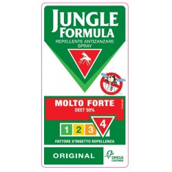 Jungle Formula Repellente Antizanzare Molto Forte spray 75ml