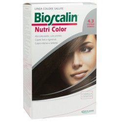 Bioscalin Nutri Color 4,3 Castano Dorato Sincrob 124 Ml