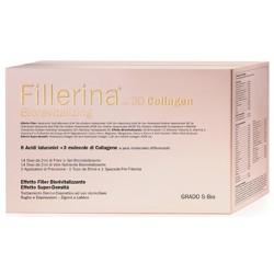 Fillerina 3D Collagen Biorevitalizing Preparato Domiciliare Grado 5 Bio 2x30ml
