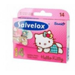Cerotto Salvelox Hello Kitty 12x14 Cm 14 Pezzi