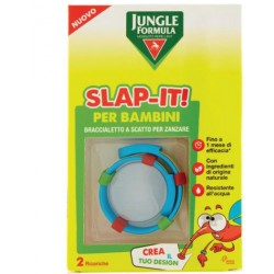 Jungle Formula Slap-it Braccialetto Anti-zanzare Per Bambini+ 2 Ricariche