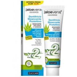 Aloevera2 Dentifricio Sbiancante Aloe Protettivo Con Stevia 100 Ml