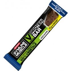 Gymline Muscle Vegetal Protein Bar Cioccolato Fondente E Mirtillo 60 G