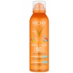VICHY Ideal Soleil Spray Anti-Sabbia per Bambini SPF 50+ 200 Ml