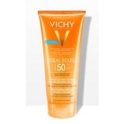 VICHY Ideal Soleil Gel-latte ultra fondente per pelle bagnata o asciutta SPF 50