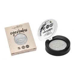 Purobio Ombretto Compatto Argento Shimmer Pack 23