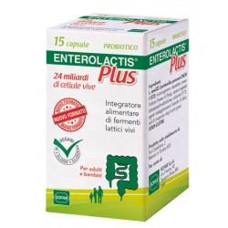 Enterolactis Plus 15 Capsule