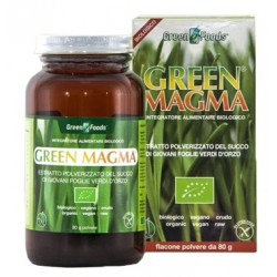 Green Magma Polvere d'erba d'orzo 80 G