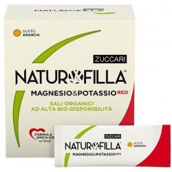 Zuccari Naturofilla Magnesio & Potassio Red Gusto Arancia 14 Stick Pack