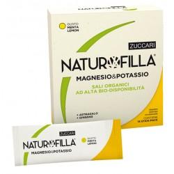 Zuccari Naturofilla Magnesio & Potassio Gusto Menta-lemon 14 Stick Pack