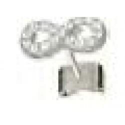 Orecchini Post Foratura Infinity Crystals Bjt987
