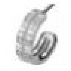 Orecchini Post Foratura Crystal Ear Cuff Bjt993