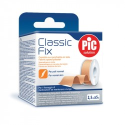 PIC Classic Fix CEROTTO IN TELA 2,5cmx5m