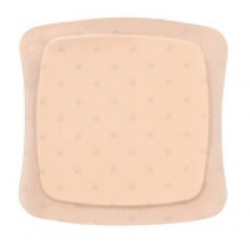 AQUACEL Ag Foam cerotti 12,5 x 12,5 cm