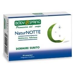 Body Spring Linea NaturNotte Equilibrio e Riposo 30 Compresse