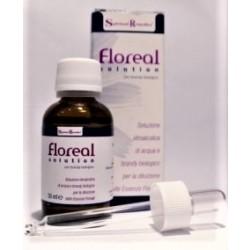 Floreal Solution 30 Ml Soluzione Acqua E Brandy Biologico Per Diluizione Essenze