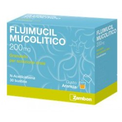 Fluimucil mucol os 30 bust200 mg