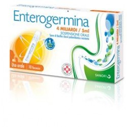 Enterogermina os 10 fl 4 mld 5 ml