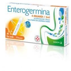 Enterogermina os 10 fl 4 mld 5 ml