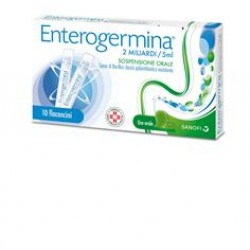 Enterogermina os 10 fl 2 mld/5 ml