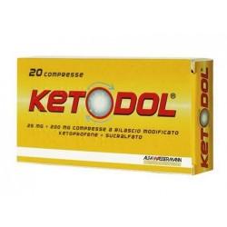 Ketodol 20 Compresse 25 mg+20 0mg