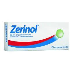 Zerinol 2 0 Compresse riv 300 mg+2 mg