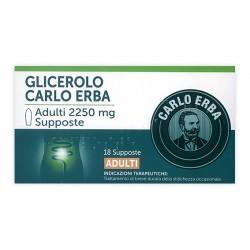 Glicerolo ad 18 supp 2250 mg