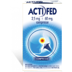 Actifed 12  Compresse 2 ,5 mg+60 mg