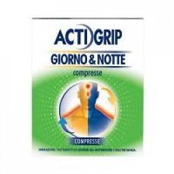 Actigrip giorno&notte 12 +4 Compresse