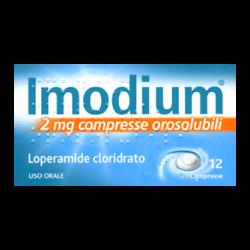 Imodium 12  Compresse orosol 2 mg