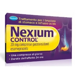 Nexium control 14 Compresse gastr20 mg