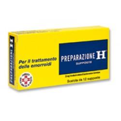 Preparazione h 12 supp 23 mg