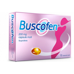 Buscofen 12 cps molli 200 mg