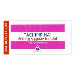 Tachipirina bb 10 supp 500 mg
