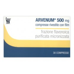 Arvenum 500 30 Compresse riv 500 mg