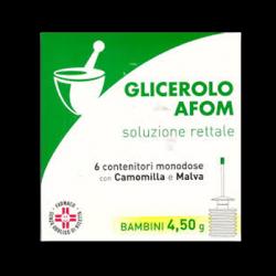 Glicerolo afom bb 6 cont 4 ,5 g