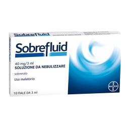 Sobrefluid nebul 10 f 40 mg 3 ml