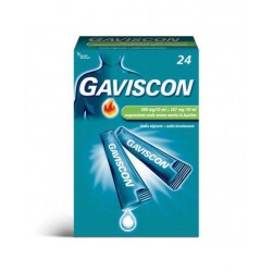 Gaviscon 24 bust 500 +267 mg/10 ml