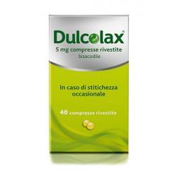 Dulcolax 40 Compresse riv 5 mg