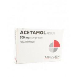 Acetamol ad 20 Compresse 500 mg