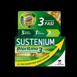 SUSTENIUM  Bioritmo3 Multivitaminico  DONNA 60+