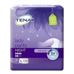 TENA lady pants NIGHT 7pz