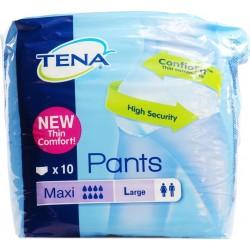 Pannolone Pull-up Tena Pants Maxi Taglia Large 10 Pezzi