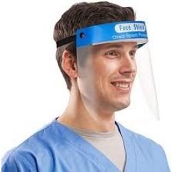 Visiera protettiva Face Shield per protezione totale - Marchio CE